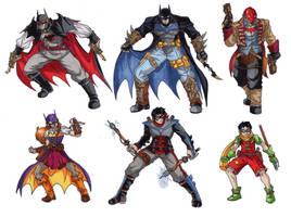 Batman Steampunk designs