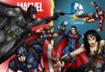 DC Trinity Vs Marvels Big 3