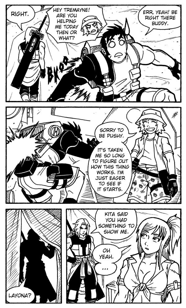 Ryak-Lo Issue 51 Page 08 by taresh