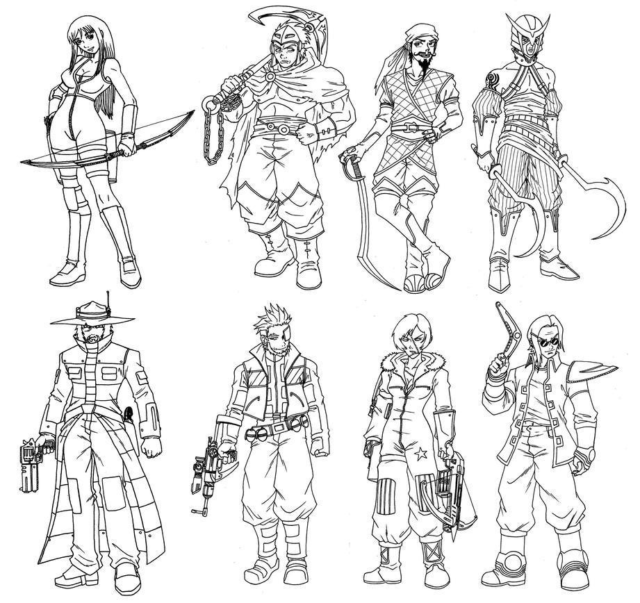 Ryak-Lo Specialist/Class - 12 Anomaly by taresh