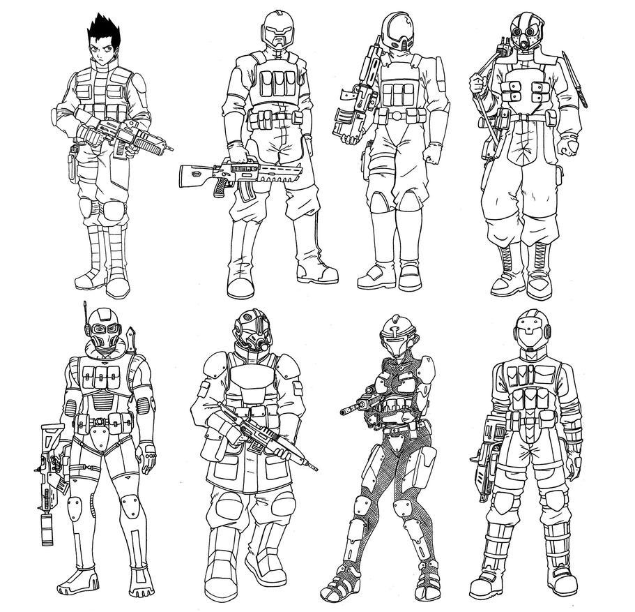 Ryak-Lo Specialist/Class 15 - Elite by taresh