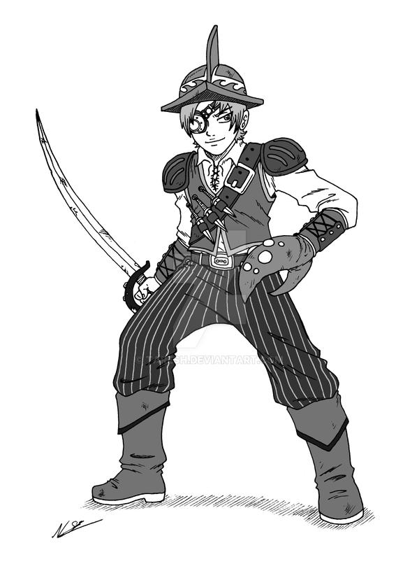 Pirate Commission by taresh