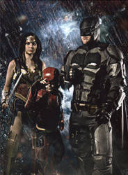 Justice League Cosplay by taresh