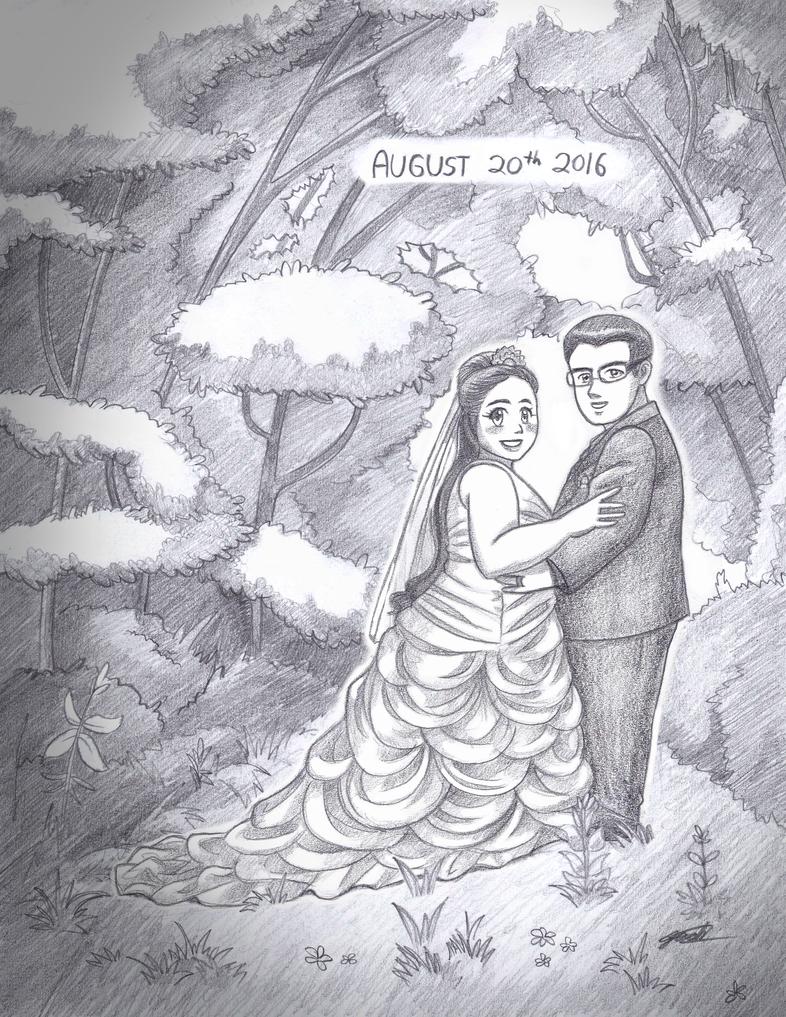 COMM: Dan and Danika's Wedding by Jashiku