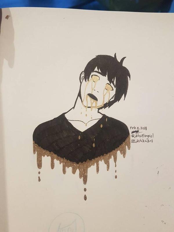 Dripping Gold by Jashiku