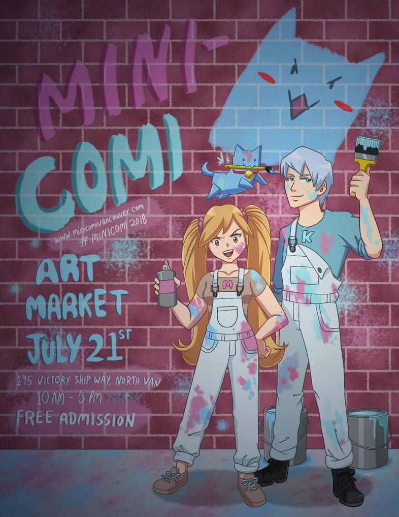 MiniComi Art Contest 2018 by Jashiku