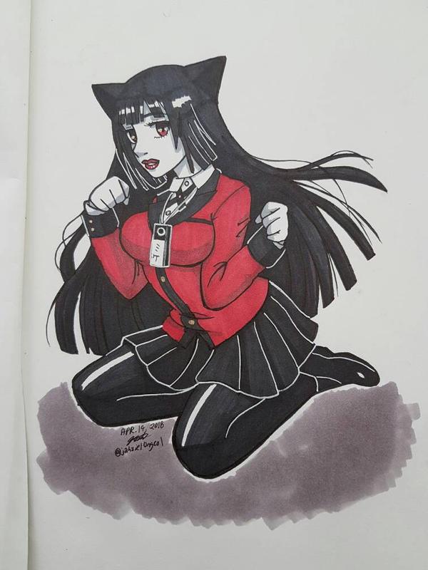 Neko Jabami Yumeko by Jashiku