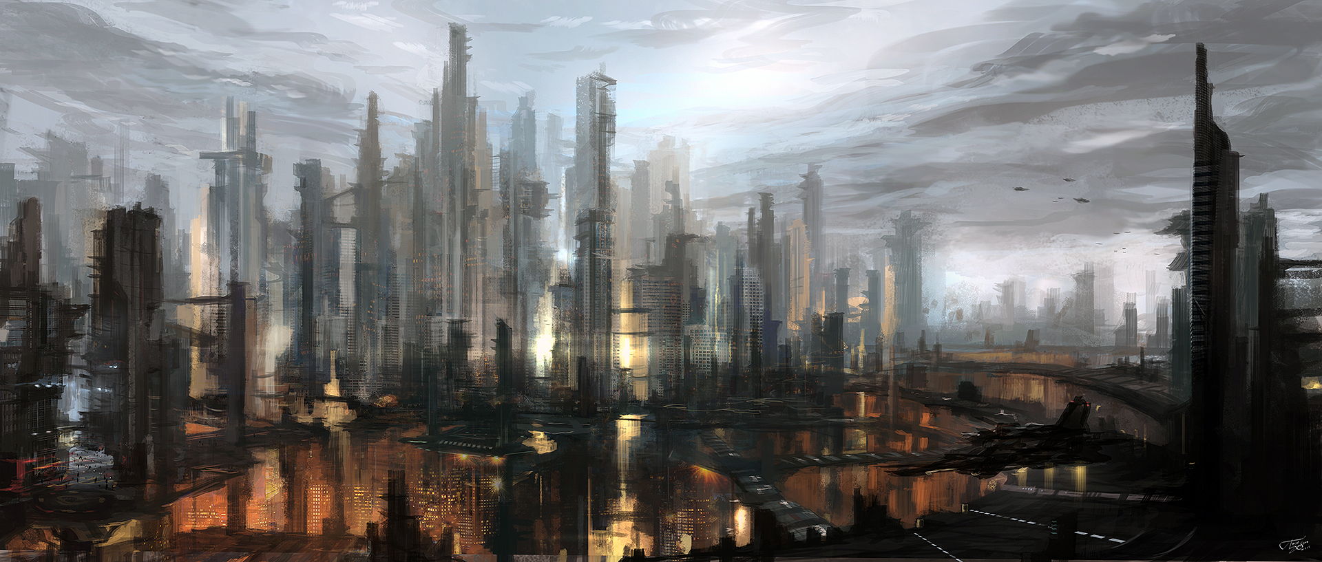 cityscape by tnounsy
