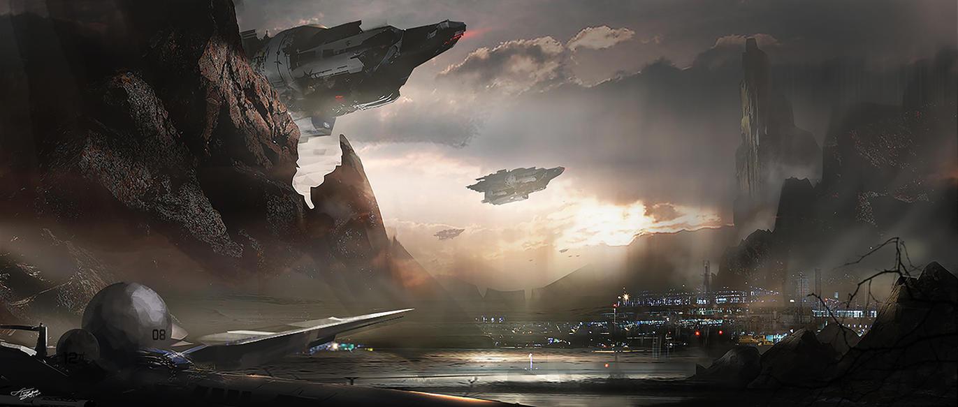sci-fi... stuff by tnounsy