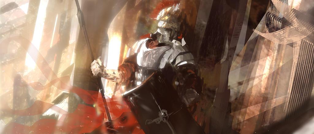 Roman soldier by tnounsy