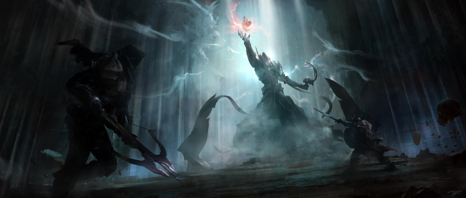 Final confrontation - Diablo 3 Reaper of Souls by tnounsy
