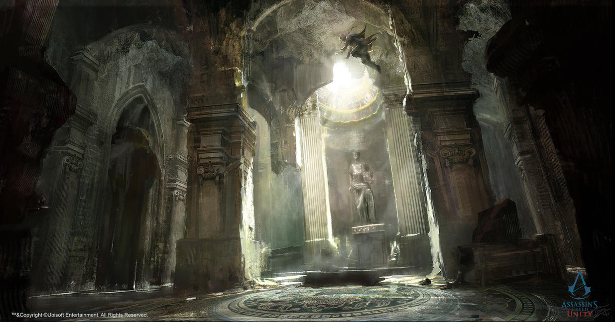Lord Of The Rings Throne Room Matte Painting