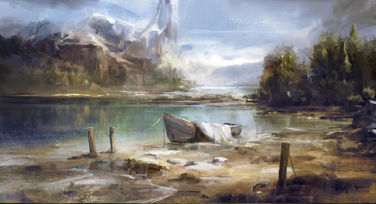 Landscape practice by tnounsy