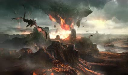 rockfiredragons by tnounsy