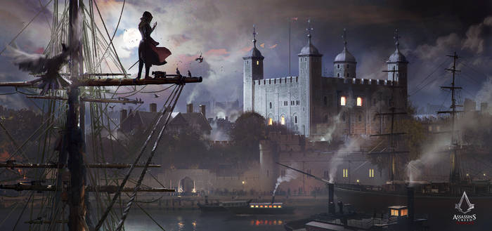 Assassin's Creed Syndicate concept art