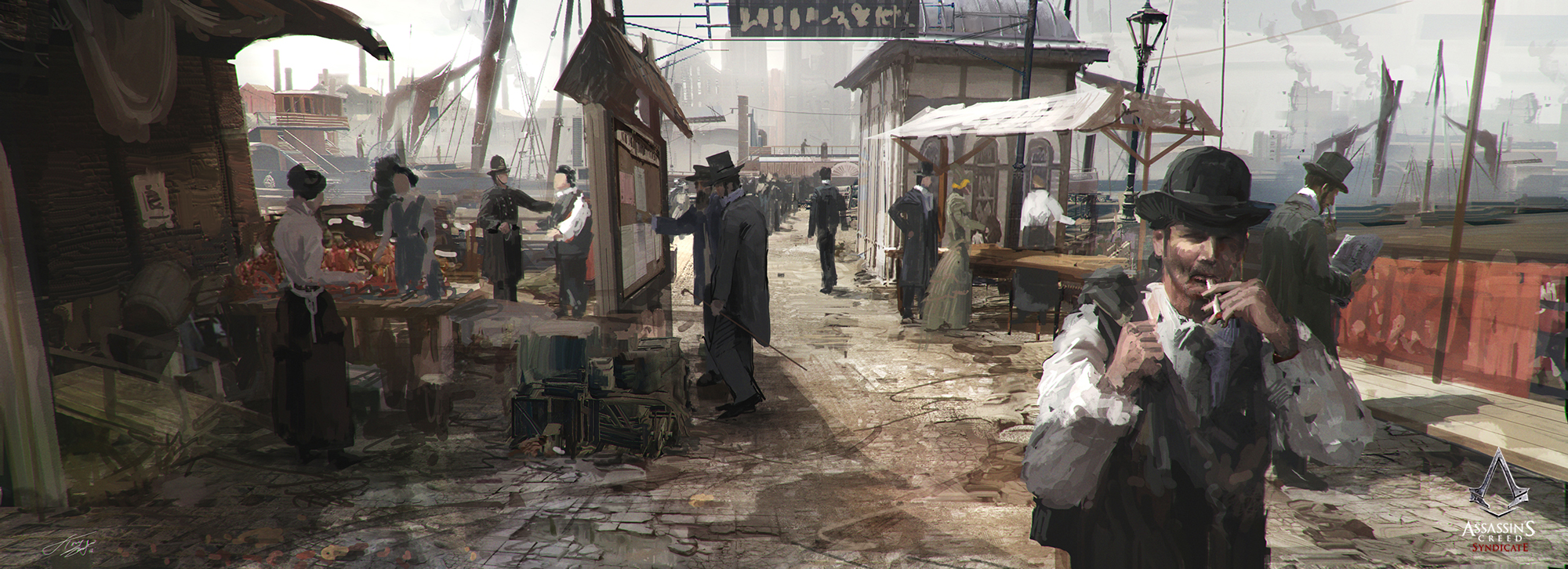 Assassin S Creed Syndicate Concept Art By Tnounsy On Deviantart