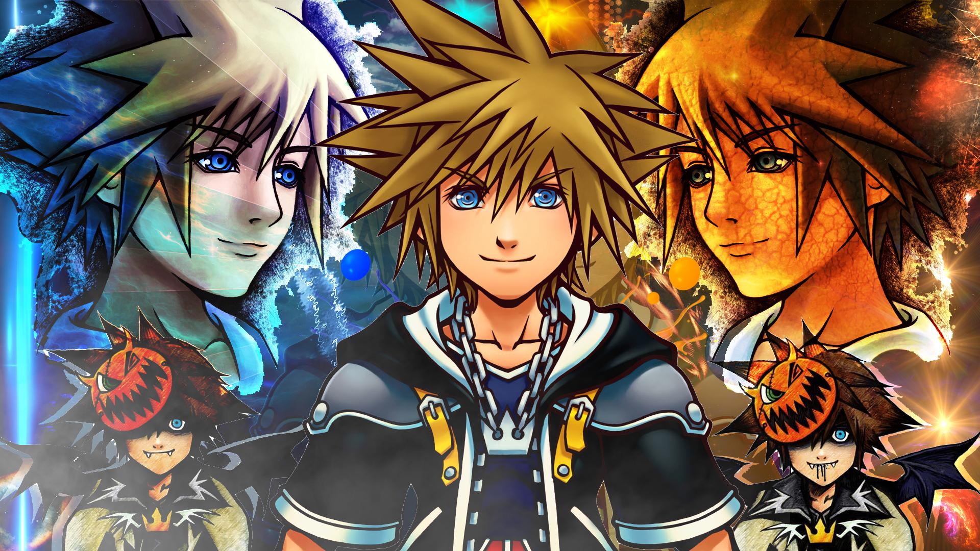 Kingdom Hearts 2 Sora Wallpaper By Soraa Game On Deviantart