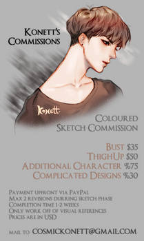 Commission Sheet [OPEN]