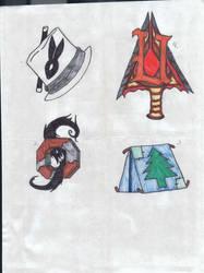 Fan- Clan Symbols by rabbit-chainsaw