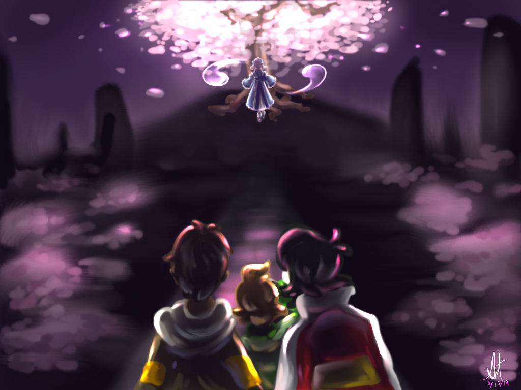 VLD: Land of the Cherry Blossoms by sageleaf1987