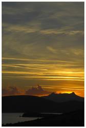 sunset in turkey III