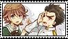 Chishimaru (Chihiro x Ishimaru) Stamp by misawafujisaki