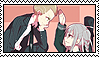 Kuzupeko (Kuzuryuu x Pekoyama) Stamp