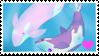 Pearl x Amethyst Whale Stamp by misawafujisaki