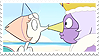 Pearlmethyst (Pearl x Amethyst) Stamp
