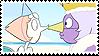 Pearlmethyst (Pearl x Amethyst) Stamp by misawafujisaki
