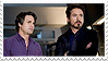 Science Boyfriends (Tony x Bruce) Stamp