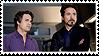 Science Boyfriends (Tony x Bruce) Stamp by misawafujisaki