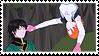 Renora (Ren x Nora) Stamp #2 by misawafujisaki
