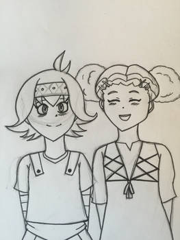 Ayu x Amanda Sketch