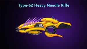 Type-62 Heavy Needle Rifle by HWPD