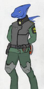 Ascarian Explorer Uniform