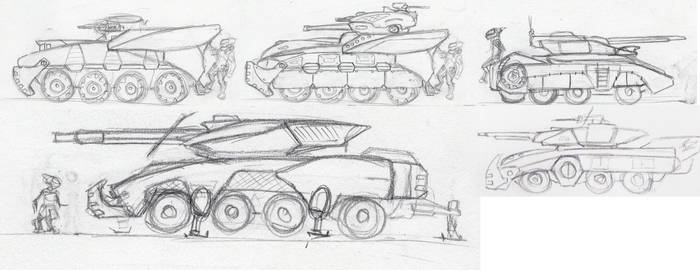 Ascarian Armored Vehicles