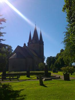 Light on Church