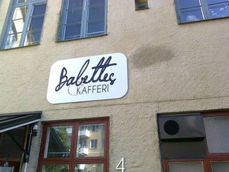 Babettes Kafferi, Linkoping, Sweden