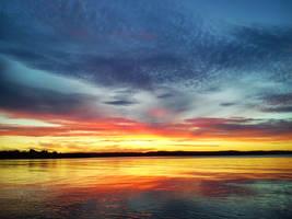 Orange Sky by lennarrrt