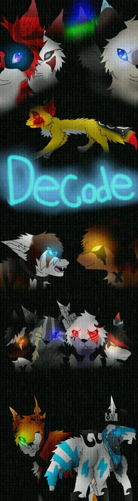 Decode Cover by Hawkspirit8228