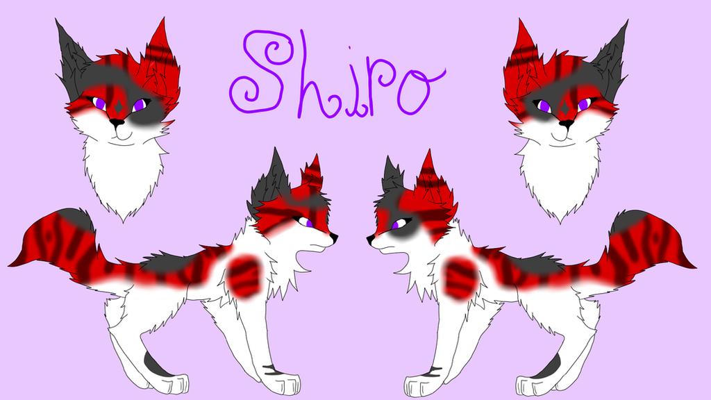 Shiro Ref Sheet by Hawkspirit8228