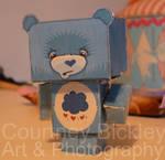 Grumpy Bear Paper Doll