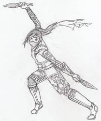 Alynda the Ninja by Nefa-Aria