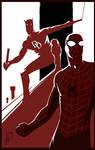 Spider-Man Daredevil Teamup
