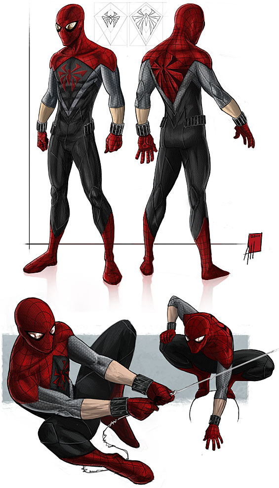 Project Rooftop Spider Man 2 0 By Deralbi On Deviantart