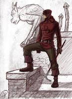 Daredevil Anno 1700 by deralbi