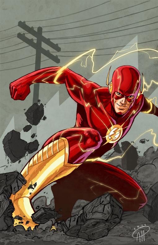 Tournoi des Personnages Préférés DC Comics (on vote pour nos persos préférés, on ne se base pas sur la force) - Page 10 The_flash__by_deralbi-d4s16s9