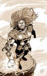 Thor B/W