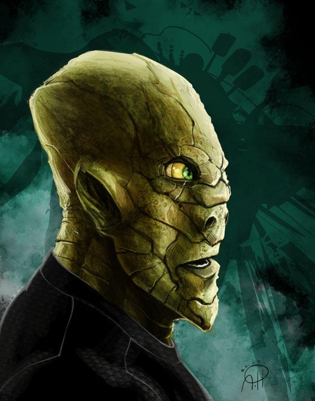 Alien Head by deralbi